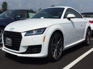 A Parked Audi TT